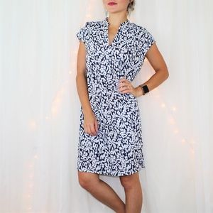 NWT J.Crew Printed Pocket Shift Dress